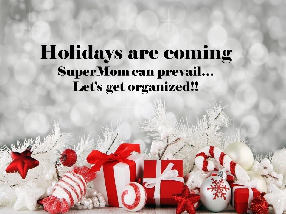 Christmas SuperMom,