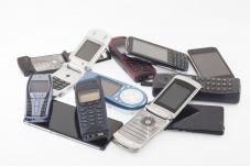 Pile of electronics
