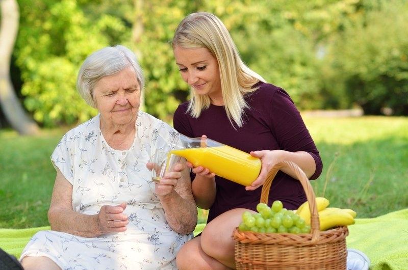 Old Woman Picnic
